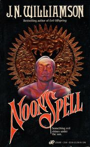 Cover of: Noonspell