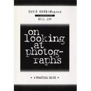 Cover of: On looking at photographs