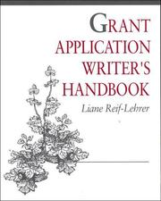 Cover of: Grant application writer's handbook
