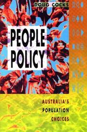 Cover of: People policy
