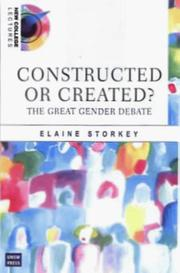 Cover of: Created or constructed? | Elaine Storkey