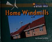 Cover of: Home windmills | Cherese Cartlidge