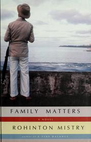 Cover of: Family matters | Rohinton Mistry