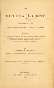 Cover of: The Virginia tourist | Edward Alfred Pollard