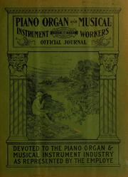Cover of: Piano and organ workers