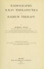 Cover of: Radiography | Knox, Robert