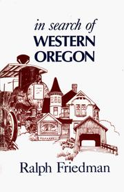 Cover of: In search of western Oregon | Ralph Friedman