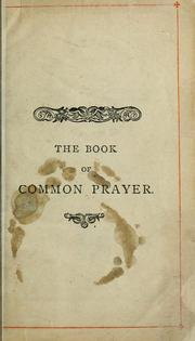 Cover of: The Book of Common Prayer |