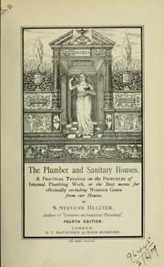 Cover of: The plumber and sanitary houses | S. Stevens Hellyer