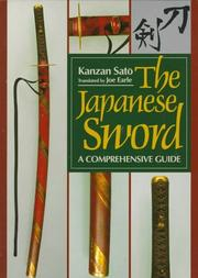 Cover of: The Japanese Sword | Kanzan Sato