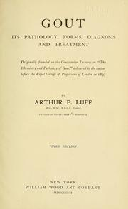 Cover of: Gout | Arthur P. Luff