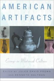 Cover of: American Artifacts |