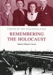 Cover of: Remembering the Holocaust