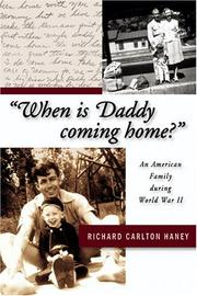 "Cover of: ""When is daddy coming home?"""