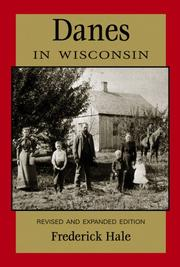 Cover of: Danes in Wisconsin | Frederick Hale