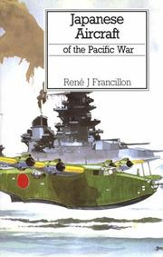 Cover of: Japanese aircraft of the Pacific war
