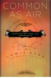 Cover of: Common as air | Lewis Hyde