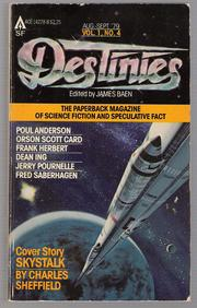 Cover of: Destinies: The Paperback Magazine Of Science Fiction And Speculative Fact, Aug.-Sept.