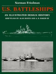 Cover of: U.S. battleships: an illustrated design history