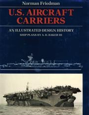 Cover of: U.S. aircraft carriers: an illustrated design history
