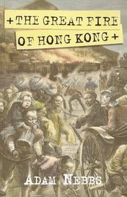 Cover of: The Great Fire of Hong Kong by