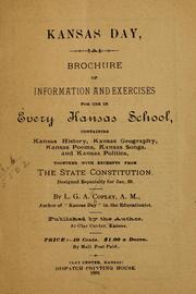 Cover of: Kansas day | L. G. A. Copley