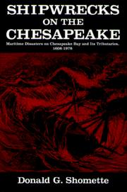Cover of: Shipwrecks on the Chesapeake