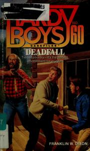 Cover of: Deadfall by Franklin W. Dixon