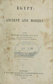 Cover of: Egypt, ancient and modern | Russell, Michael