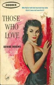 Cover of: Those who love |