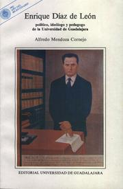 Cover of: Enrique Díaz de León