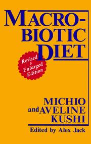 Cover of: Macrobiotic Diet | Michio Kushi