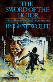 Cover of: The sword of the Lictor | Gene Wolfe