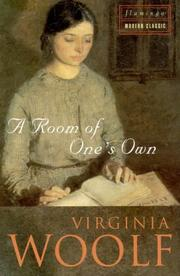 Cover of: A Room of One's Own (Flamingo Modern Classics) by Virginia Woolf