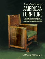 Cover of: Four centuries of American furniture