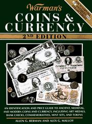 Cover of: Warman's coins & currency