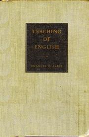 Cover of: The  teaching of English
