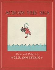 Cover of: Across the Sea | M. B. Goffstein