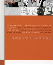 Cover of: Perfect Acts Of Architecture | Elia Zenghelis