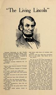 Cover of: The living Lincoln | M. S. Kaufman