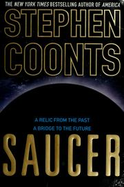 Cover of: Saucer | Stephen Coonts