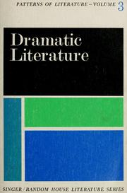 Cover of: Patterns of literature