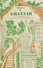 Sojourn in Savannah by Betty Rauers