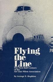 Cover of: Flying the line | George E. Hopkins
