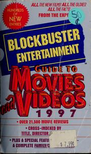 Cover of: Blockbuster Entertainment guide to movies and videos, 1997 | Ron Castell