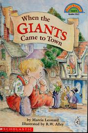 When the Giants Came to Town by Marcia Leonard