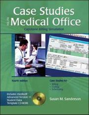 Case Studies for the Medical Office w/ Student Data CD