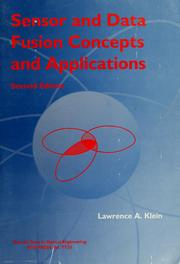 Sensor and data fusion concepts and applications by Lawrence A. Klein