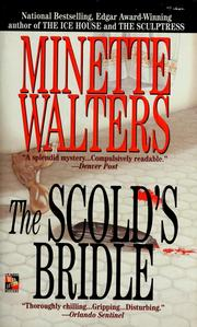 Cover of: The scold's bridle by Minette Walters