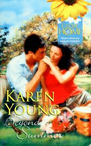Cover of: Beyond Summer by Karen Young